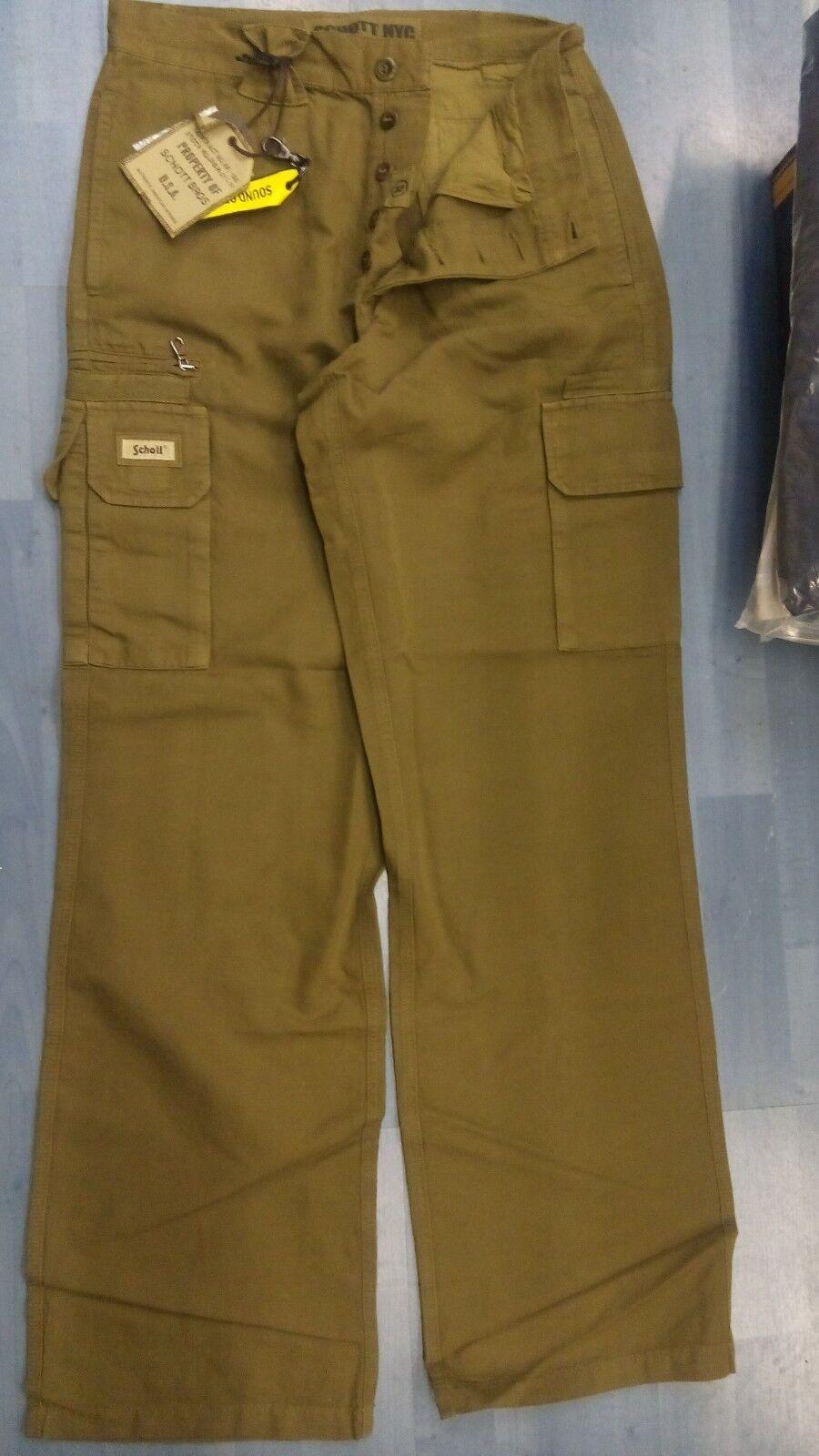 Pantalone 36 SCHOTT tasconi cotone tg disp. 32 33 34 36 Pantalone ba9270
