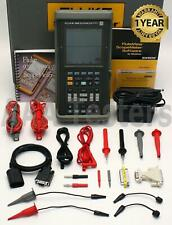 Fluke 105b Scopemeter Series Ii 100mhz Handheld Oscilloscope Scope Meter 105