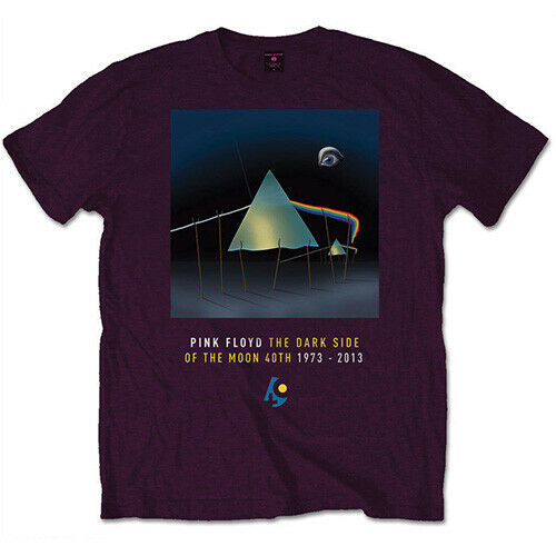 Pink Floyd Men/'s Tee Dark Side of The Moon 40th Dail Sleep