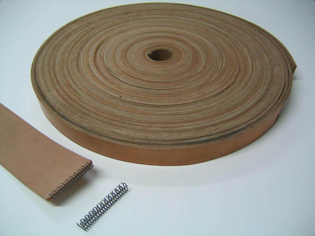 Cuir Courroies de transmission, courroie de transmission, courroie en Courroie, cuir, plats Courroie, en 60 mm de large, NEUF!!! 3049cb