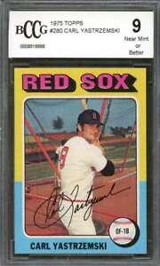 Carl-Yastrzemski-Card-1975-Topps-280-Boston-Red-Sox-50-50-Centered-BGS-BCCG-9