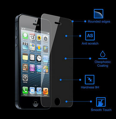 9H New Premium Tempered Glass Screen Protector Film for Mobile Phone cover case