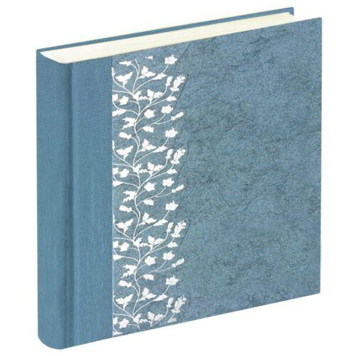 Álbum de fotografías Flower azul libro de fotografías invitados libros bodas libro álbumes de fotos álbumes