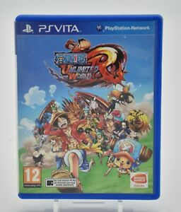 PS Vita jeux One Piece Unlimited World Red