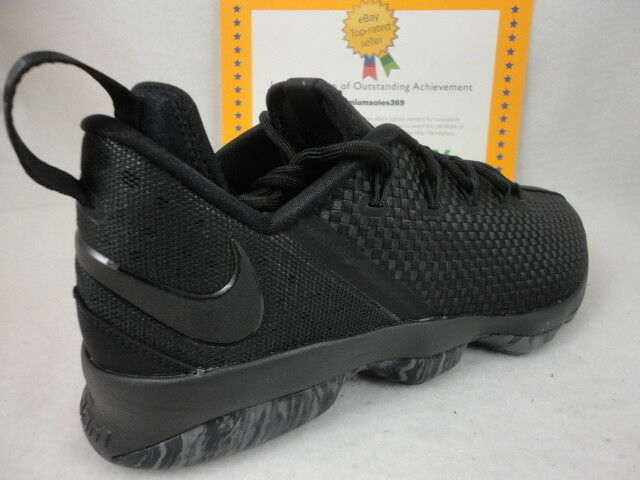 finest selection 2332f d2a25 Nike Lebron Soldier XIV Low, Black   Dark Grey, 878636 002, Sz 11.5