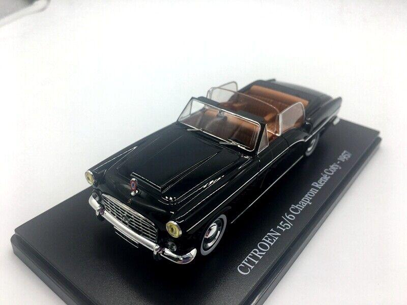 NOREV 1  43 CITROEN 15  6 CHAPRON RENE COTY -1957 DIESbil modellllerL