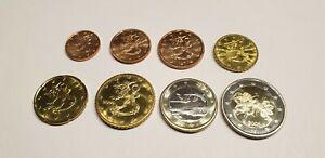 série euro de 1 cent a 2 euro Finlande voir annonce pièces sortie de rouleaux