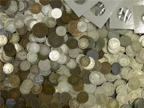 $30 LOT OF MIXED COINS 75 YEARS OLD OR OLDER FAIRTRADERZ SPECIAL