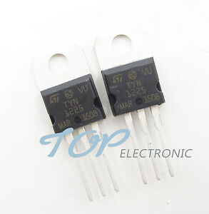 50pcs New TYN1225 Transistor ST Triac 25A 1200V TO-220