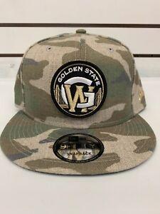 NBA New Era 9fifty Golden State Warriors Camouflage Hat Snapback Cap