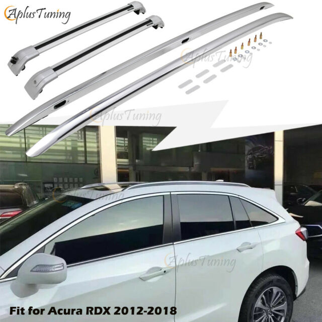 4PCS Fit For Acura RDX 2012-2018 Silver Aluminum Roof Rack