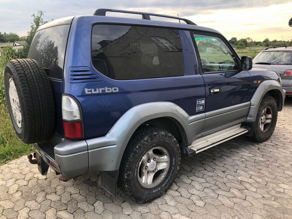 Toyota, Land Cruiser, 3,0 D-4D Van