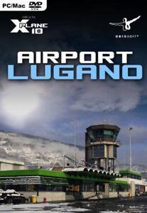 X-Plane 10 Airport Lugano Add-On Mac, PC Game NEW