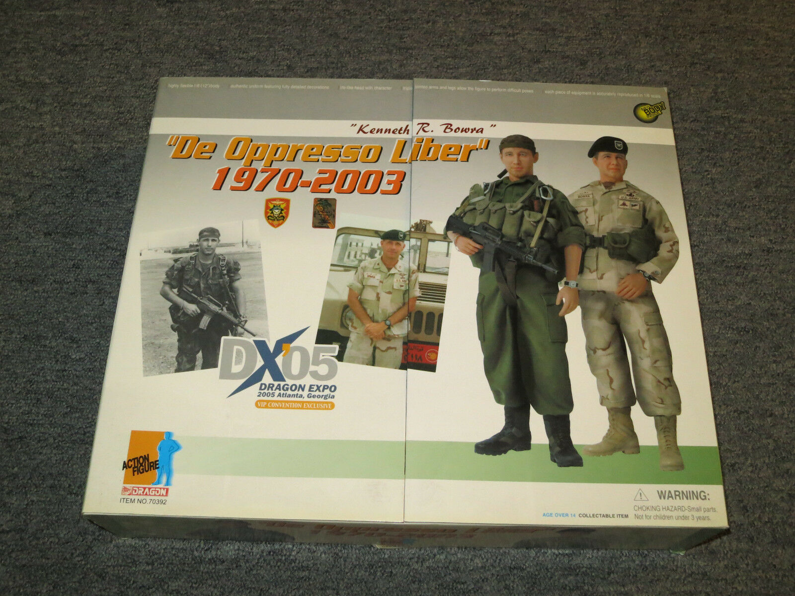 DRAGON DX05 De Oppressor Liber 19702003 2 Pack Kenneth Bowra 16 Scale nuovo