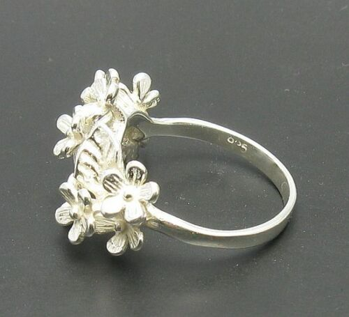 Sterling Silver Ring Solid 925 Fleur R000603 EMPRESS