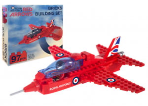 RAF-Red-Arrows-Officially-Licensed-Bricks-Building-Set-RRP-6-99-ONLY-4-99