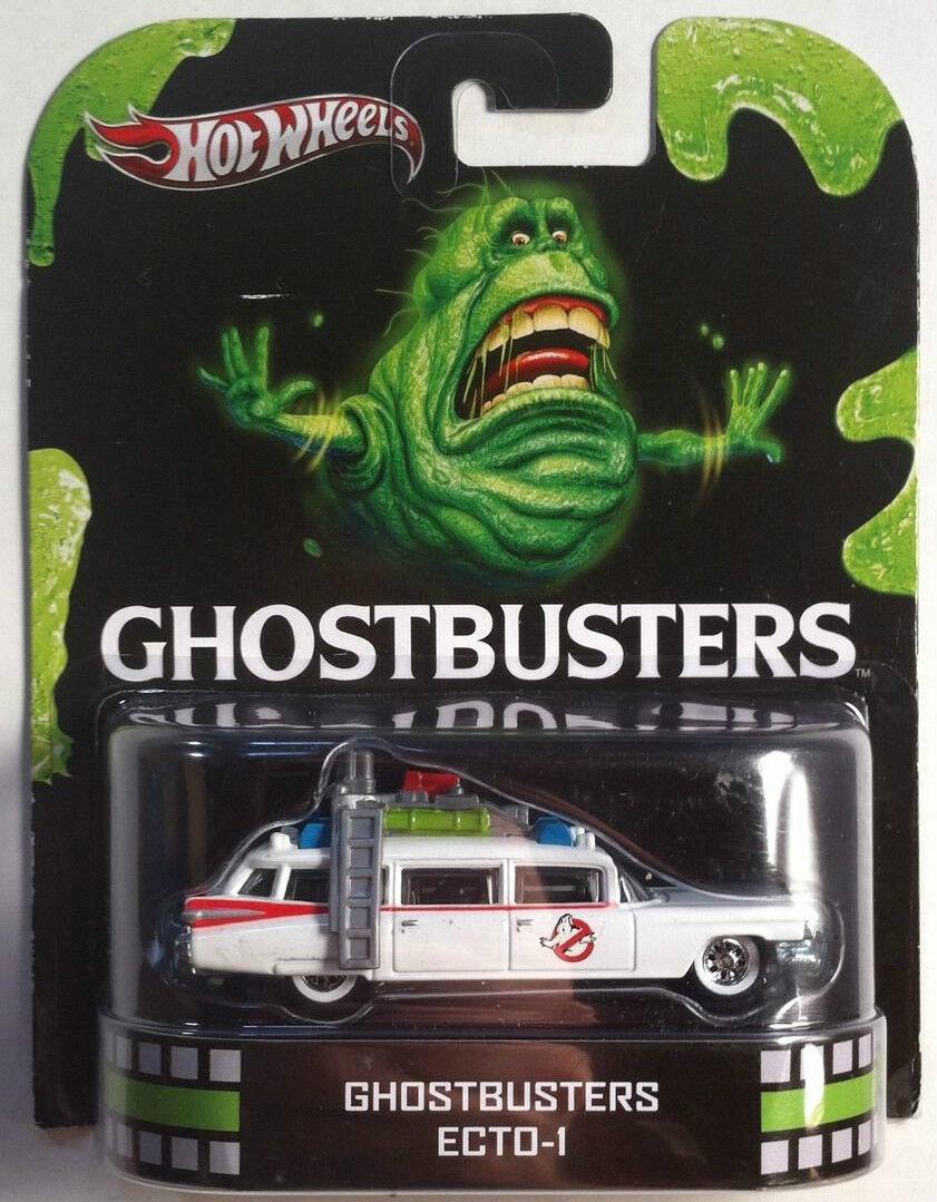1 64 Hot Wheels Retro Entertainment Ghostbusters Ecto 1
