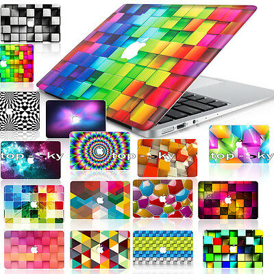 3D Printing Airbrush Unique Customize Skin Hard DIY Case Cover for Macbook Book