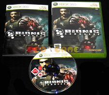 BIONIC COMMANDO XBOX 360 Versione Ufficiale Italiana 1ª Edizione ••••• COMPLETO