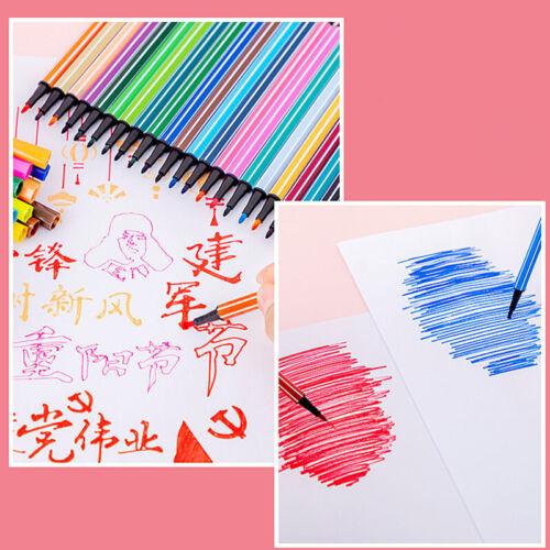 Washable Watercolor Pen Colour Pen Set for Kids Drawing Painting Art Marker Pens