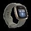 miniature 7 - Soft Silicone Sport  Watch Band Wrist Strap For Fitbit Versa 3 / Fitbit Sense