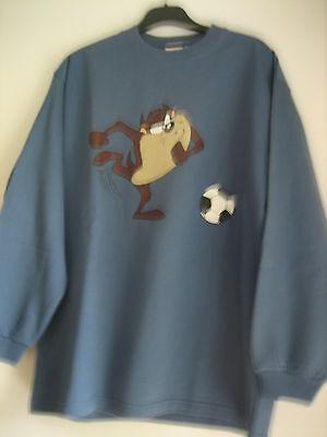 Sweat Shirt Bleu Taz Looney Tunes 14 Ans Studio Aventures