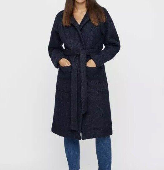 Noisy peut Navy ZOE à hommeches longues Manteau Taille s