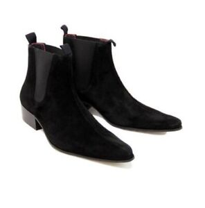 dress boots suede