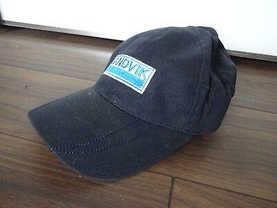 *** Sandvik *** Baseball Cap-fitted Cap-cool Design-blu Scuro ** Top **-mostra Il Titolo Originale Rapida Dissipazione Del Calore