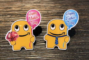 Amazon Mitarbeiter peccy Pin Set 2021 Mütter und Väter Tag peccys