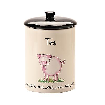 0057.060 Price and Kensington Home Pig Oink Farm Tea Jar