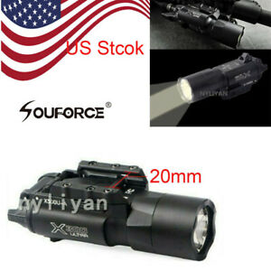 Ultra-X300U-500LM-LED-Flashlight-20mm-Picatinny-Rail-Torch-for-rifle-Pistol-gun