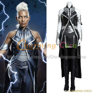 Details About X Men Apocalypse Storm Ororo Munroe Cosplay Costume Uniform Halloween Outfit