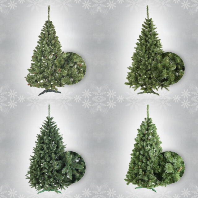 Artificial Christmas Tree Types.Artificial Christmas Tree With Stand Bushy Xmas Tree 6 Types And 3 Sizes