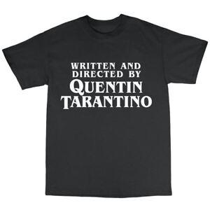 Copieux Quentin Tarantino Hommage T-shirt 100% Coton Pulp Fiction Reservoir Dogs-afficher Le Titre D'origine GuéRir La Toux Et Faciliter L'Expectoration Et Soulager L'Enrouement