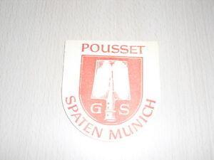 SOUS-BOCK-Pousset-Spaten-Munich