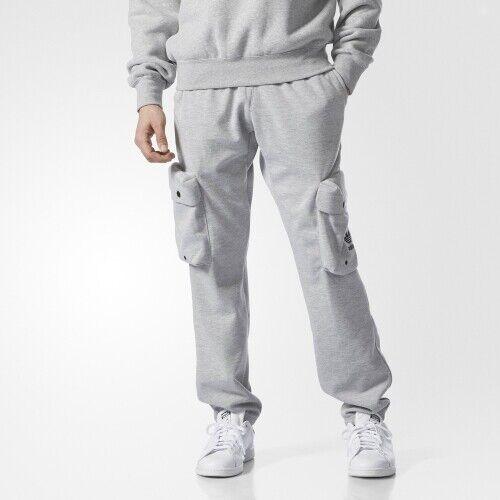 adidas Originals Mad Plaid Men/'s Cargo Track Sweatpants AY9299 Gray sz S-2XL