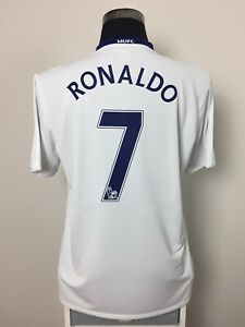 6e1858b3783 Image is loading RONALDO-7-Manchester-United-Away-Football-Shirt-Jersey-