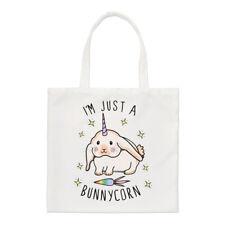I/'m A Pugicorn Rainbow Regular Tote Bag Pug Unicorn Dog Funny Shoulder