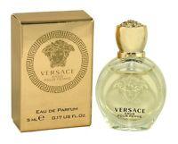 Versace Eros Pour Femme Women Mini Bottle 0.17 Oz 5 Ml Eau De Parfum Splash