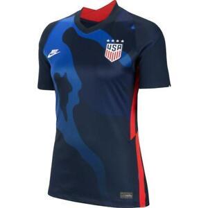 Nike USWNT 2020/21 USA 4 Star Away Stadium Jersey (S) CD0907 475