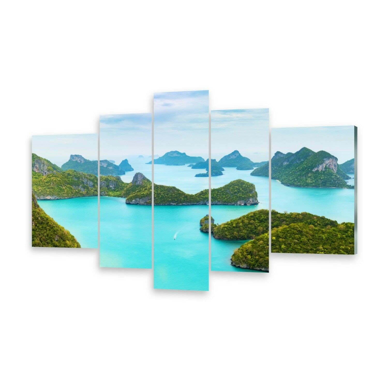 Mehrteilige Bilder Glasbilder Wandbild Marine Park
