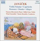 Jancek: Violin Sonata; Capriccio etc. (CD, Feb-1999, Naxos (Distributor))