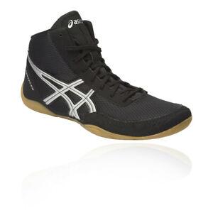 Asics-Homme-MATFLEX-5-lutte-chaussures-noir-sport-boxe-Respirant-Leger