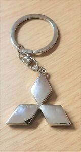 Maße 40x35mm Wir Nehmen Kunden Als Unsere GöTter Schlüsselanhänger Mitsubishi Schlüsselanhänger Logo Silbern Auto & Motorrad: Teile