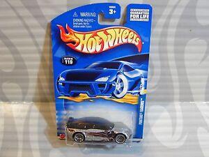 2002 Hotwheels #119 =pontiac Rageous= Silbern Modellbau 0910