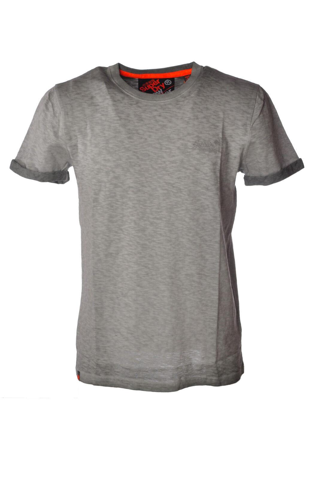 Superdry - Topwear-T-shirts - Mann - Grau - 3478814H184137