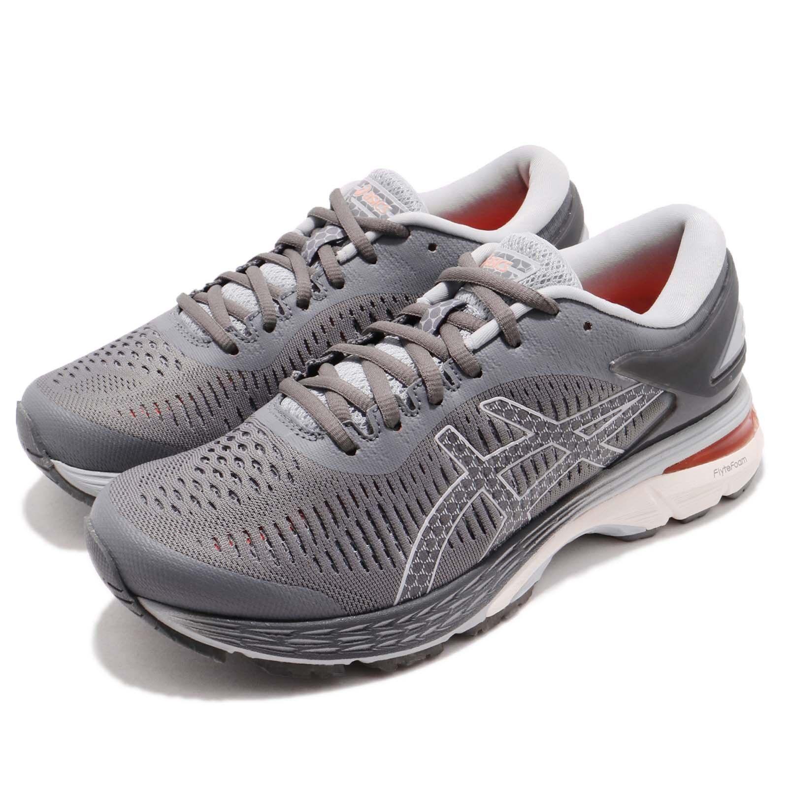 Asics GelKayano 25 Carbon grigio bianca donna Running scarpe scarpe da ginnastica 1012A026020