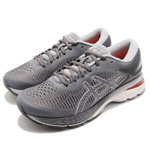 Asics-Gel-Kayano-25-Carbon-Grey-White-Women-Running-Shoes-Sneakers-1012A026-020
