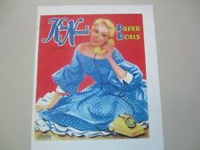 Lovely BETTY HUTTON Paper Dolls w// Movie Costumes--AUTHORIZED ED--SPECIAL PRICE!